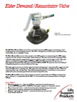 LSP Elder Demand Resuscitator Valve