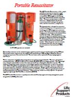 LSP Portable Resuscitator