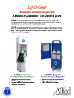 Lif-O-Gen® Emergency Portable Oxygen Kits