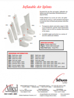 Schuco® Inflatable Air Splints